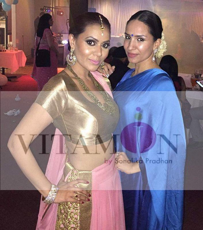 vitamin by sonalika # Sonalika # Pradhan # Bollywood # Fashion # Designer # Brand # Mumbai # India # Melbourne # Australia # Gold # Brocade # Peach # Ghagra # Choli # Blue # Shaded # Silk # Saree # Festive #Season # Traditional # Look