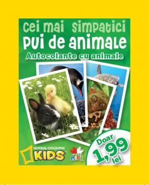 Cei Mai Simpatici Pui De Animale (plicuri Cu Stickere)