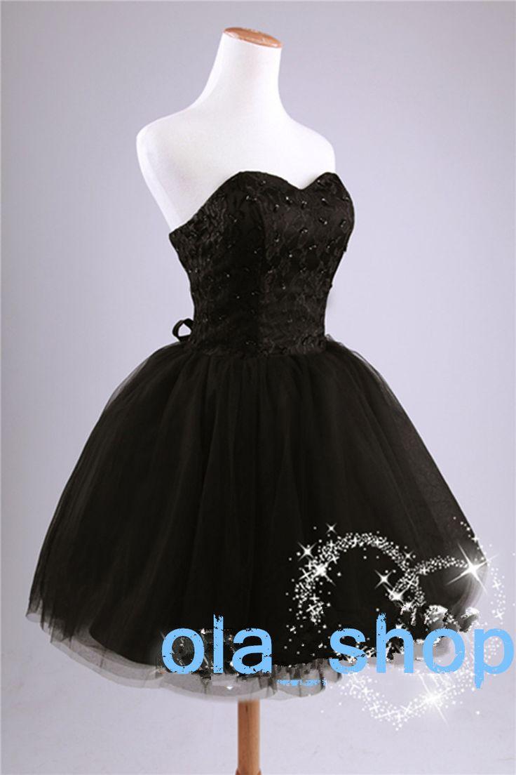 Princesse Style 2015 élégante double épaule court conception occasion spéciale dentelle tull robe de bal pour