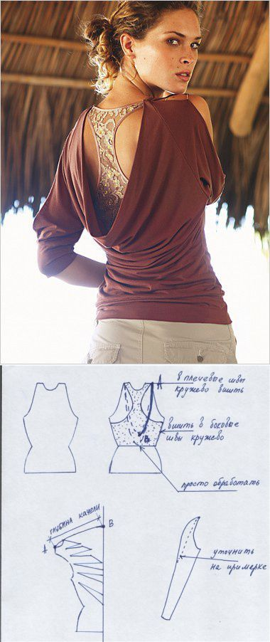 Sewing Pattern / Backless top