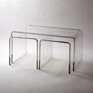 Umo Acrylic Coffee Table amp Nesting Furniture Ideas