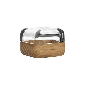 iittala Vitriini Box-60x60 mm Clear/Oak