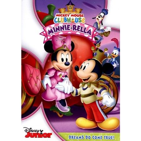 Mickey Mouse Clubhouse: Minnie-Rella (dvd_video) : Target
