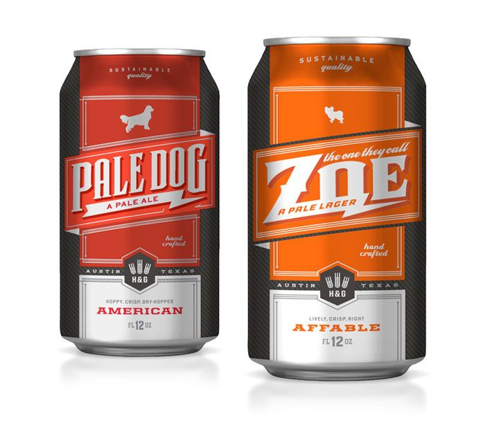 "Hops & Grain Brewing: ""The One They Call Zoe"" Pale Lager - The Dieline -"