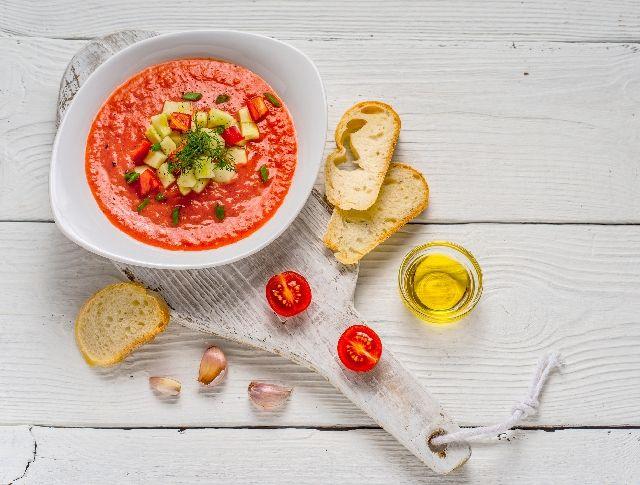 Gazpacho (hideg spanyol zöldségleves) Recept képpel - Mindmegette.hu - Receptek
