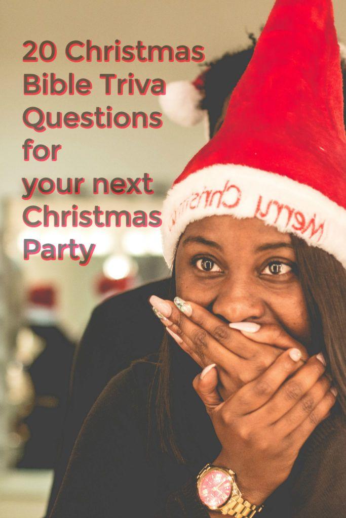 Christmas Bible Trivia Quiz For Christmas Party Games Christian Christmas Party Christmas Party Ideas For Teens Christmas Bible