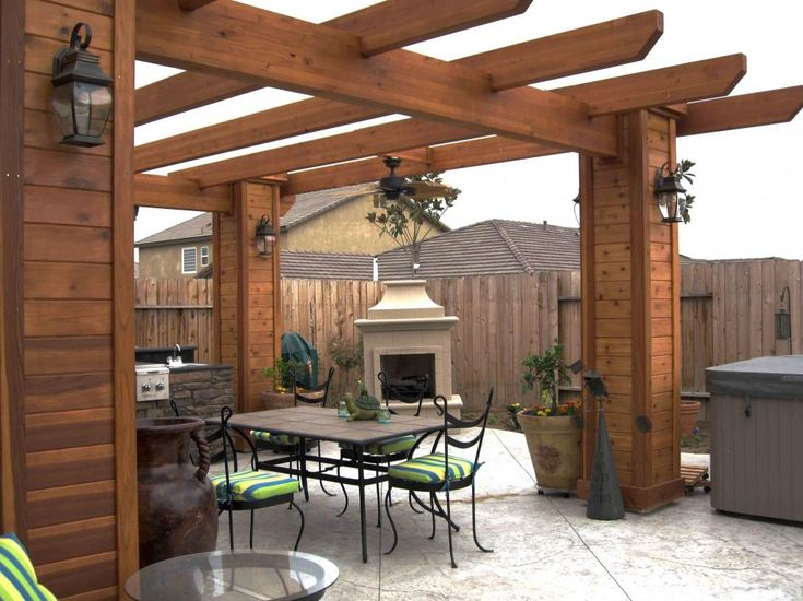 Backyard Decks | ... Considering One of These Backyard Structures | Patio Deck Designs Idea