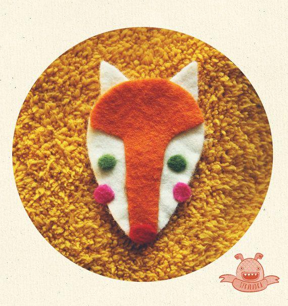 sweet Fox specially for you. by Szkaradka on Etsy, $6.00