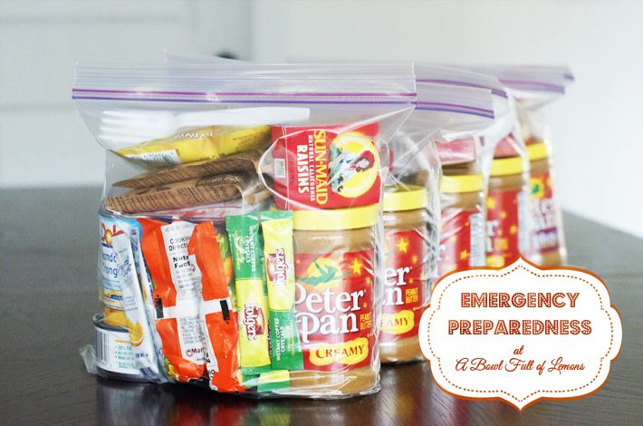 72 hour kits for emergency preparedness - A Bowl Full of Lemons