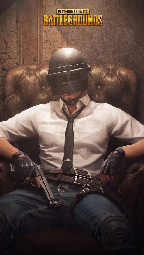 Nice PUBG Helmet Guy Playerunknown's Battlegrounds 4