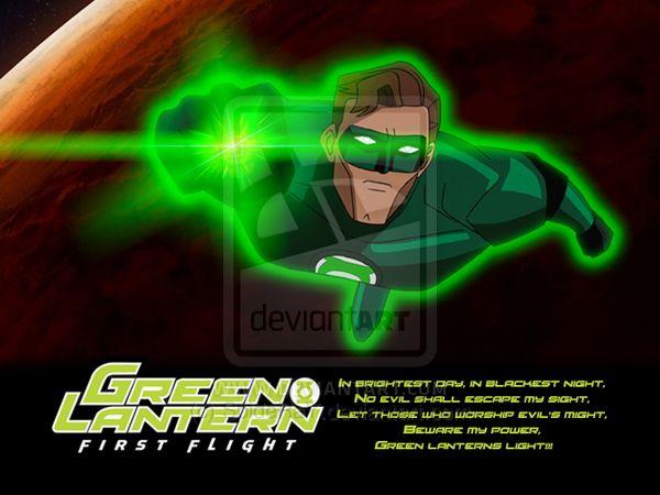 GREEN LANTERN - First Flight by SpideRaY.deviantart.com