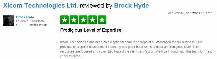Check out the review posted by Mr Brock Hyde here http://www.trustpilot.com/review/www.xicom.biz/52b12b2c00006400026b67db