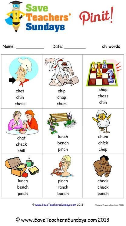 ch phonics worksheet (circle the correct word) - http://www.saveteacherssundays.com/phonics/year-1/154/ch/ for other phonics activities, phonics worksheets, phonics lesson plans, phonics powerpoints, phonics word searches and phonics stories #phonics, #reading,  #teaching, #teachers, #teacher, #tutors, #tutor, #teach, #education, #learn, #learning, #primary, #elementary, #KS1, #kindergarten, #worksheets, #homework