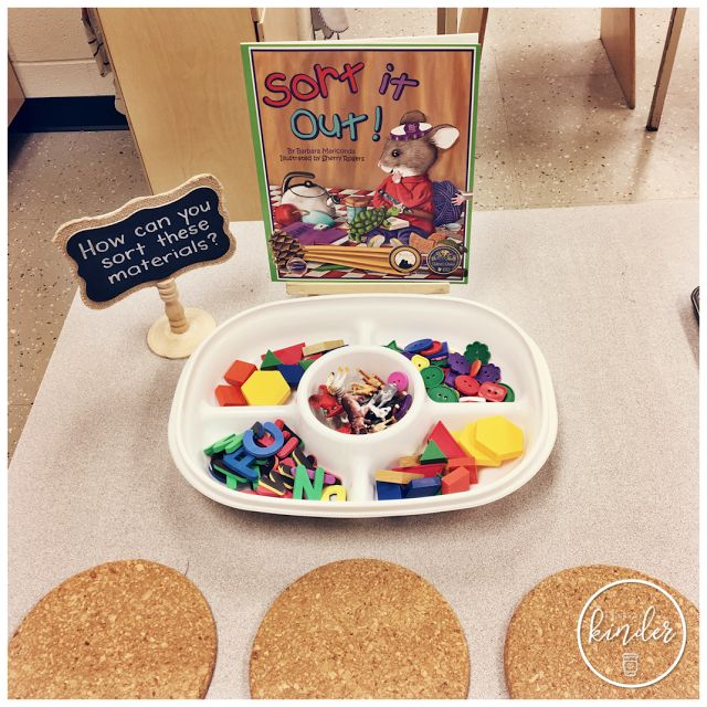 A Pinch of Kinder - Sorting Centre - Open-Ended Sorting Invitation/Provocation