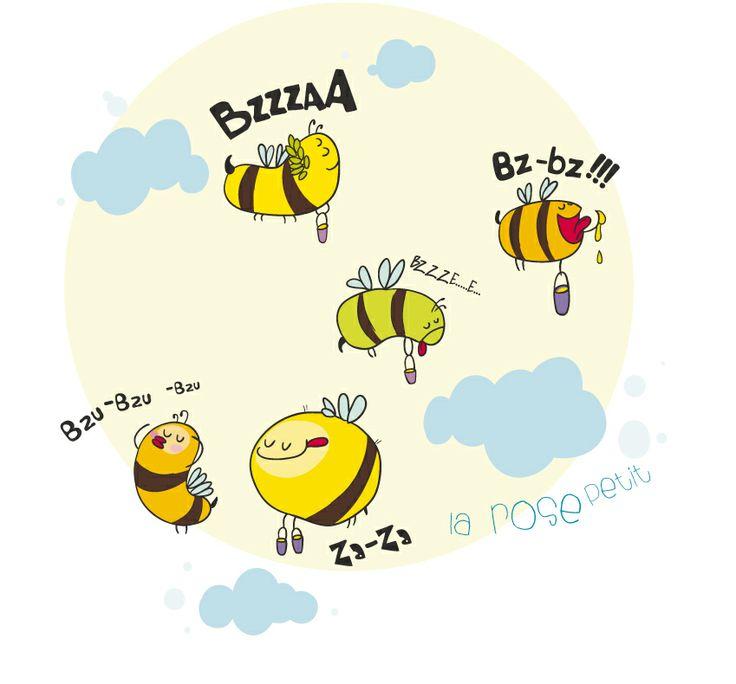 Bee Zzz  http://rozovotruskova.blogspot.ru/