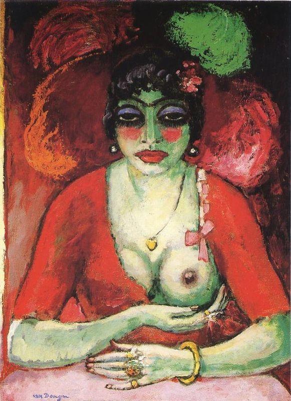 Kees van Dongen, Femme fatale (1905)  www.artexperiencenyc.com