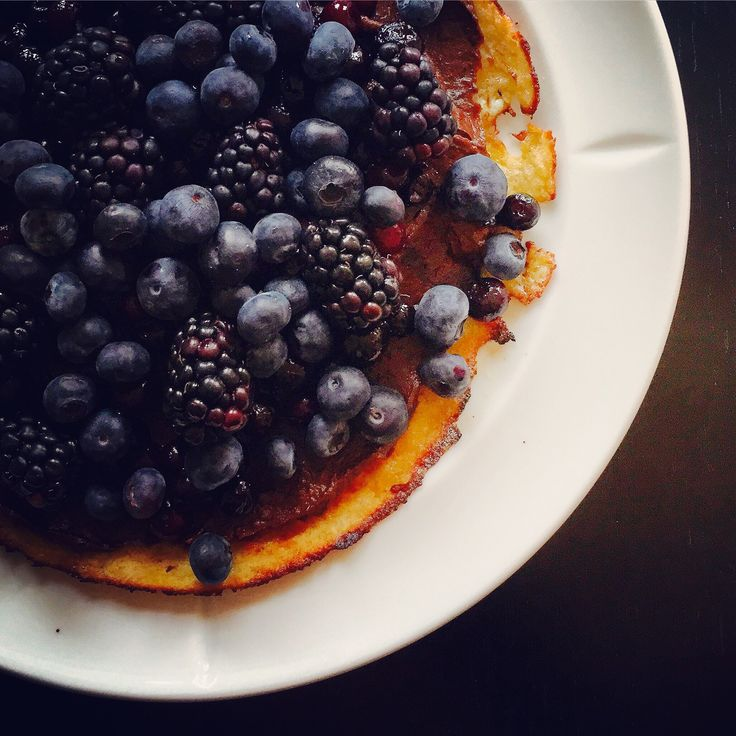 Healthy brunch pancake - So tasty. Start the day fully energized.