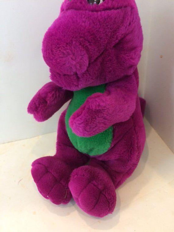 Barney Stuffed Animal From The 80s Cool Barney Dinosaur Stuffed