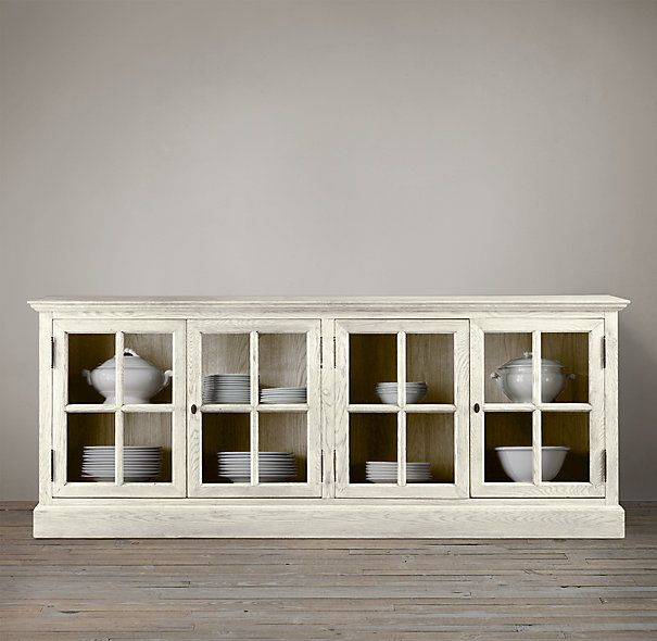 Restoration Hardware See More French Casement Low Cabinet