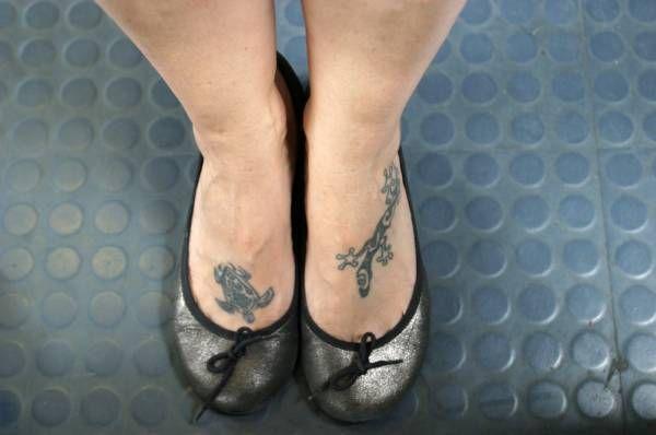 Disegni per i piedi