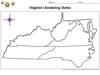 Virginia39s Bordering States Maryland West Virginia