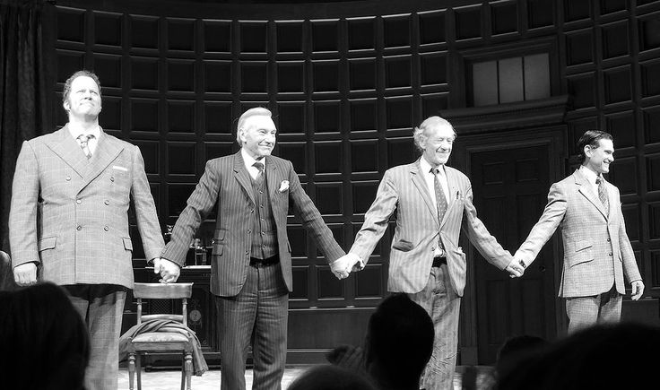 """(from left to right) : Shuler Hensley, Patrick Stewart, Ian McKellen, Billy Crudup 