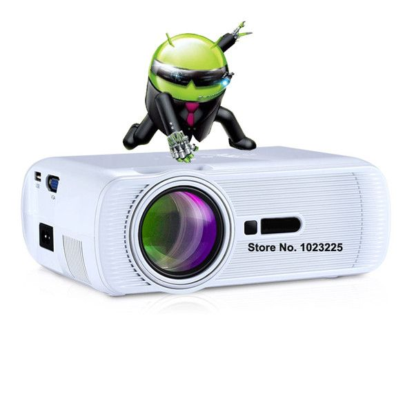 Android 3d led mini portable pico pocket micro projector accessories full hd tv home theater projetor video lcd proyector beamer