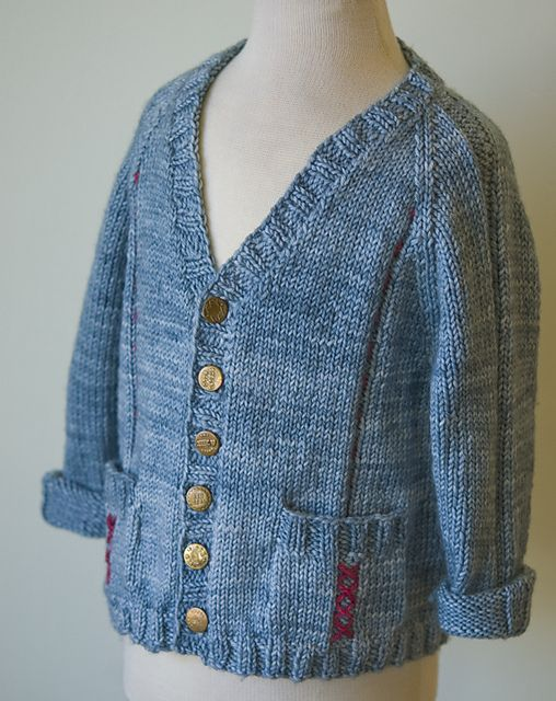 Free Knitting Patterns For Childrens Jackets : Ravelry: Haberdashery Jacket pattern by knitculture.com free knitting pattern...