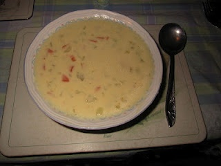 Cheddar Cheese and Cauliflower Soup