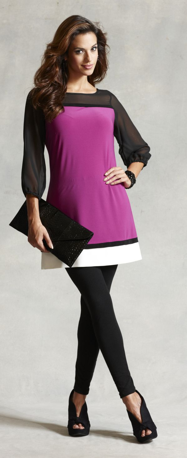 What to wear for apple shaped women over 40 & 50 & 60 - fashion for boomers at http://boomerinas.com/2012/11/best-brands-for-apple-shapes-women-over-40-50-60/