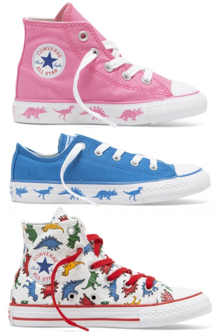 NEW Kids' Converse Dinoverse Styles Just Landed! | cool