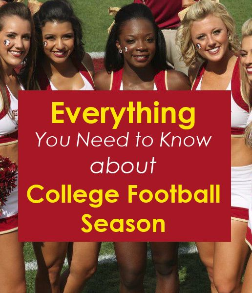 Everything You Need to Know About College Football Season