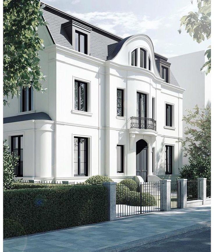 Die besten 25+ neoklassische Architektur Ideen auf Pinterest - haus renovierung altbau london wird vier reihenhauser verwandelt