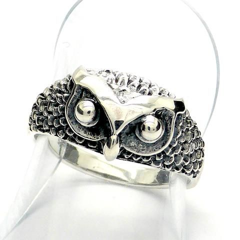 Owl Ring Stirling Silver australian supplier