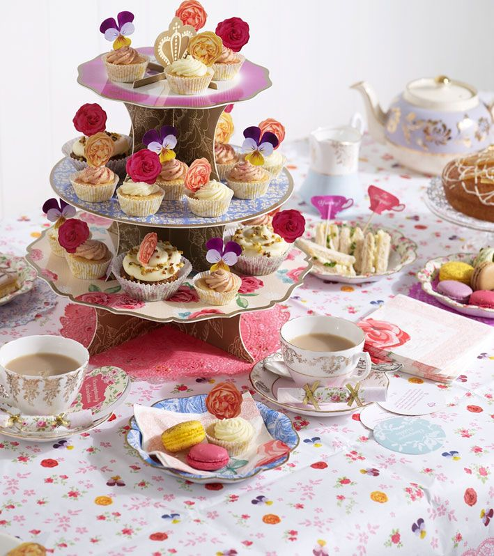 17 best images about english tea on pinterest finger for Afternoon tea decoration ideas