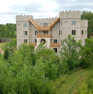 Roznikland castle 2008 is located in farmington wisconsin for Castle home builders