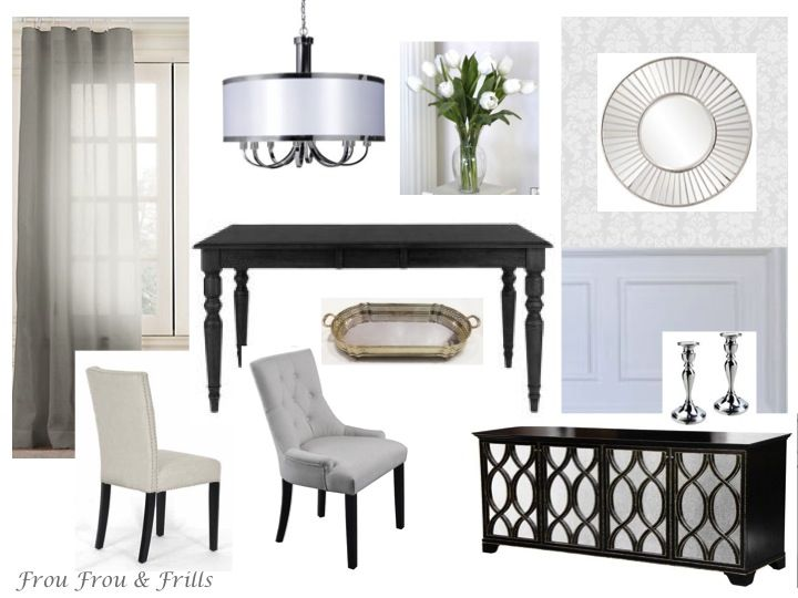 69 best dining room images on pinterest credenzas for Best transitional dining rooms