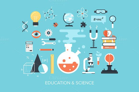 Check out Education and Science by vasabii on Creative Market