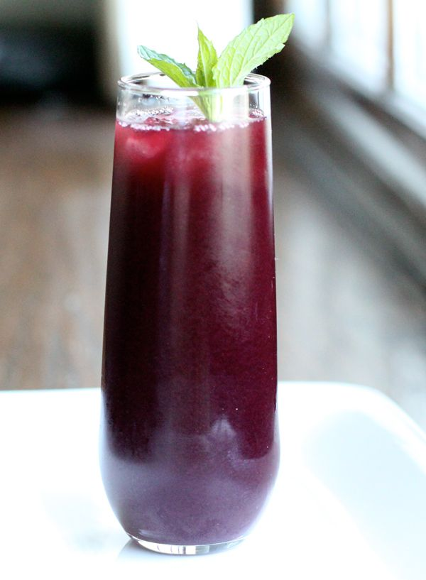 Blueberry Agua Fresca Recipe