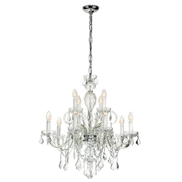 24 best radiant chandeliers images on pinterest crystal radiant jp093 richmond 12 light chandelier with crystal body metal trim aloadofball Image collections