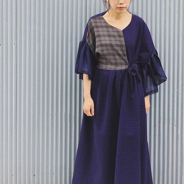 梅雨晴れな2日目☺︎ #nusumigui #販売会 #tokyo #sumida #summer #fashion #DIY #onepiece