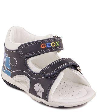 Подробнее о товаре Geox, Сандалии открытые для мальчика (сине-белые)
