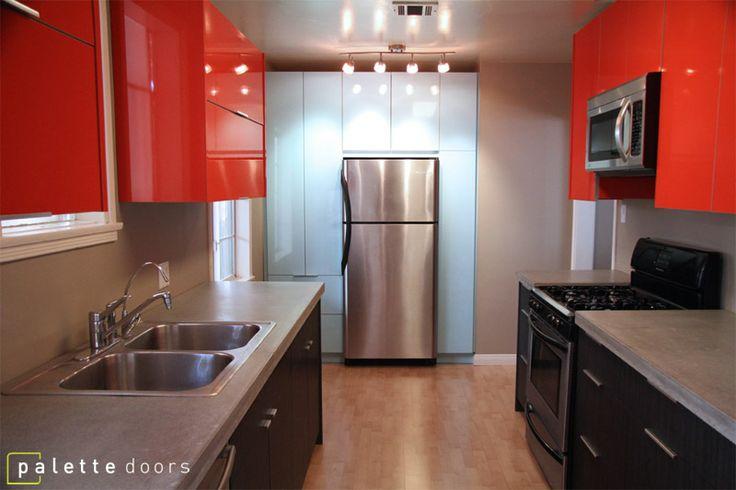 Palette Doors Custom Ikea Door Fronts Home Pinterest The O 39 Jays Modern Kitchens And Doors