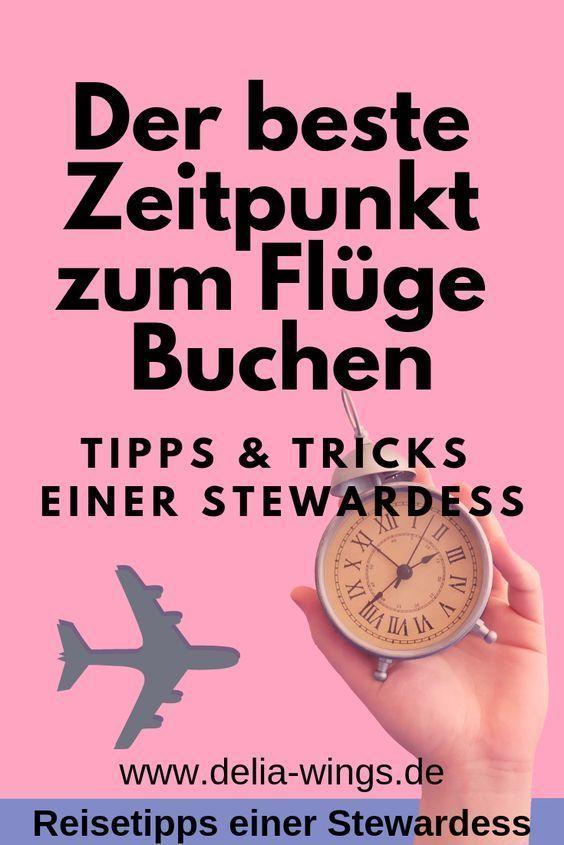 Wann ist der beste Zeitpunkt zum Flüge Buchen?