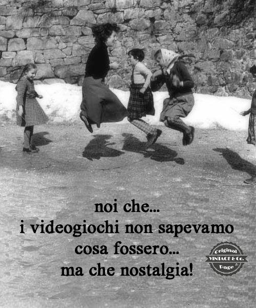 I Videogiochi non esistevano!!!