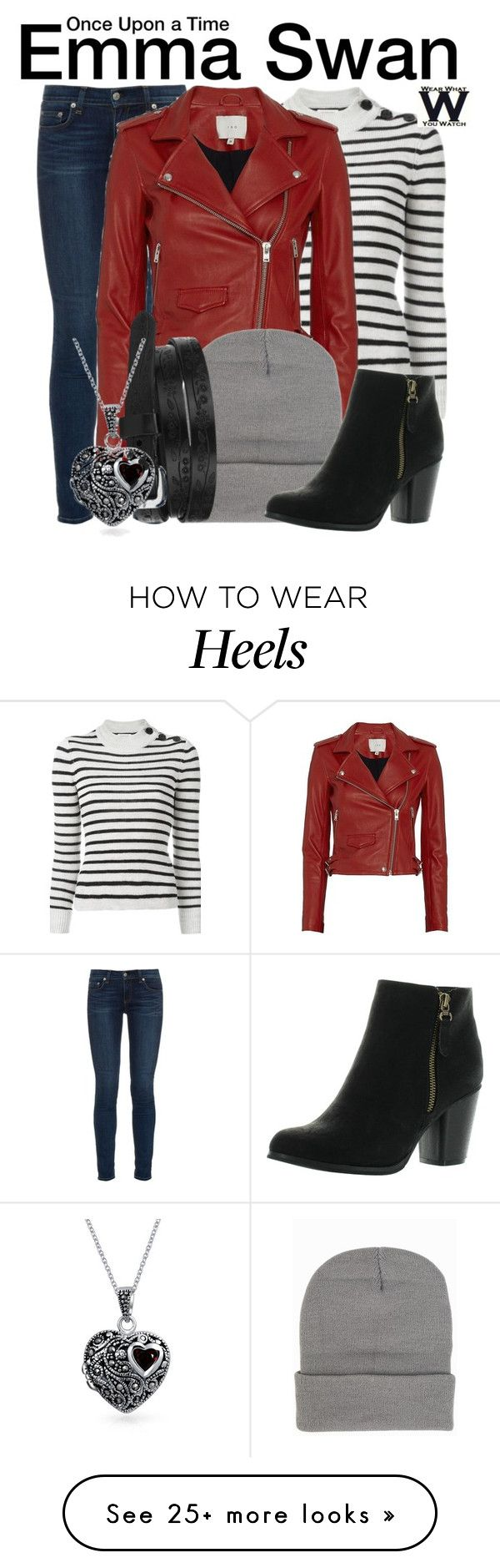 """Once Upon a Time"" by wearwhatyouwatch on Polyvore featuring rag & bone, Étoile Isabel Marant, IRO, Reneeze, Bling Jewelry, television and wearwhatyouwatch"