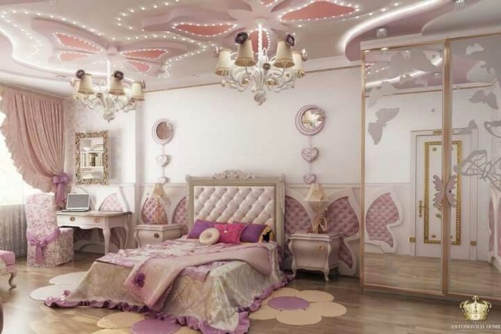 outstanding bedroom ideas girls room | Pin by Ahmed Abdul-Aziz on ID concepts | Pink bedroom ...