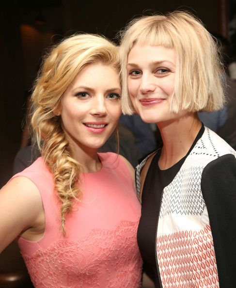 Alison Sudol Photos Photos - Actors Katheryn Winnick (L) and Alison Sudol attend Marie Claire Celebrates May Cover Stars on April 8, 2014 in West Hollywood, California. - Marie Claire Celebrates May Cover Stars