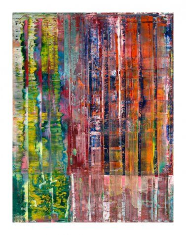 Abstraktes Bild (Abstract Picture), 1992 by Gerhard Richter - Paper Print - SFMOMA - Custom Prints Store