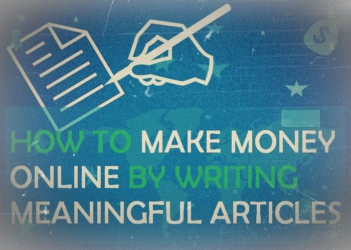How To Make Money Online Without Writing Articles?